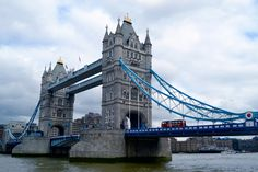 London, England - the bridge by the Tower of London.
