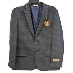 Haggar Men's 1926 Originals Slim Fit 2-Button Multi Mini Plaid Sport Coat, Chocolate, 46R Haggar http://www.amazon.com/dp/B01AMBKWTU/ref=cm_sw_r_pi_dp_baaMwb1G28BM1