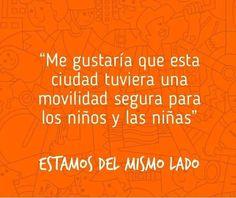 TE RETO A ESTAR DEL MISMO LADO #CulturaCiudadana los bumangueses quieren una ciudad que en su movilidad respete a los niños y las niños. Y a usted ¿qué le gustaría?  #Cultura #Movilidad #Asesorias #Transito #Bucaramanga #Tramisander #Santander #MásPositivo www.tramisander.com