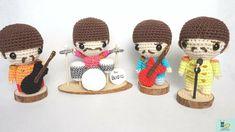 Canal crochet en Youtube ♥️ Amigurumi Tutorial, Crochet Patterns Amigurumi, Free Crochet, Crochet Hats, Fall Cross Stitch, Patron Crochet, Les Beatles, Diy Arts And Crafts, Crochet Projects