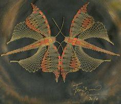 Bobbin lace. Jana Frajkorová