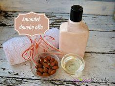 Amandel douche olie, extra verwennerij onder de douche