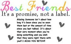 This made me think of my BEST FRIEND and how much I miss her =(