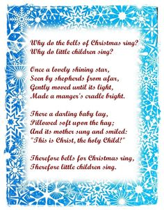 Christmas Poems for Church Bulletins | Advent1lesson | the colours ...