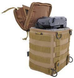 Hazard4 Forward Observer MOLLE SLR camera bag $58.75  A tactical camera bag…