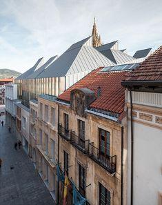 Museo de Bellas Artes de Asturias por Francisco Mangado. Fotografía © Pedro Pegenaute.