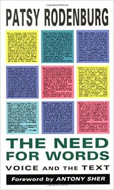 Amazon.com: The Need for Words: Voice and the Text (9780878300518): Patsy Rodenburg, Antony Sher: Books