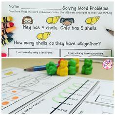 Word Problems FREEBIE - Solving word problems using multiple strategies