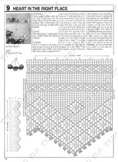 Filet crochet lace wide edging, double interlaced diamond strip, spider with points