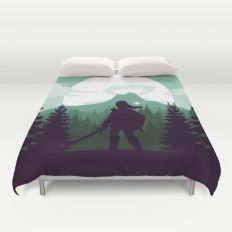 The Legend of Zelda - Green Version Duvet Cover