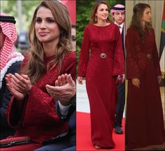 Queen Rania of Jordan 5/2013 picture detail courtesy of Salma @ The Royal Forums with permission