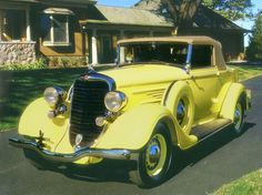 1934 Dodge Convertible Coupe - (DeSoto Division of the Chrysler Corporation 1928-1961)