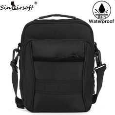 [Visit to Buy] SINAIRSOFT EDC Pouch Tactical Molle Bag 1000D Nylon Pouch Portable Outdoor Mobile Phone Wallet Travel Military Sport Waist Pack #Advertisement