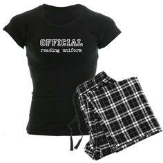 """Official Reading Uniform"" pajamas."