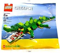 LEGO Creator BrickMaster Exclusive Mini Building Set #20015 Crocodile Bagged by LEGO. $14.75. Lego Bagged Brickmaster Set. Lego Crocodile Exclusive