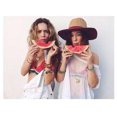 I been dranking... watermelon