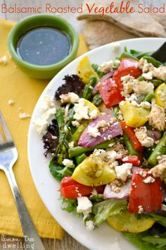 Balsamic Roasted Vegetable Salad 5