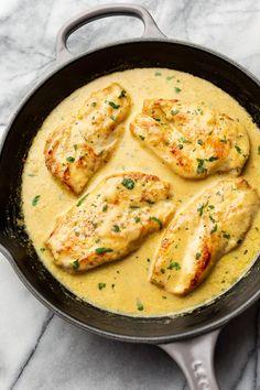 Lemon Pepper Sauce, Lemon Pepper Chicken, Recipes With Chicken And Peppers, Chicken Stuffed Peppers, Chicken Parmesan Recipes, Best Chicken Recipes, Chicken Meals, Baked Chicken, Cooking Recipes