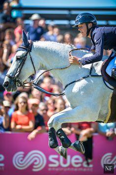 Bertram Allen and Molly Malone - Photos from the €268,000 Grand Prix de la Ville de Dinard CSI5*. . .   Noelle Floyd