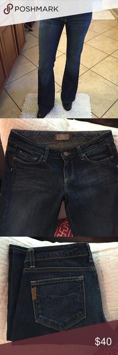 """Paige Premium Denim, Bootcut, Size 29 Paige Premium Denim, Bootcut, Size 29. Inseam 32.5"""", leg opening 9.5"""", low rise front. Paige Jeans Jeans Boot Cut"""