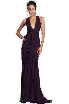eDressit New Adorable Halter Dark Purple Evening Dress (00130806) -- Click on the image for additional details.