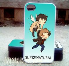 supernatural cute   iPhone 4/4s/5/5c/5s Case  Samsung by NDARIcuy, $13.55