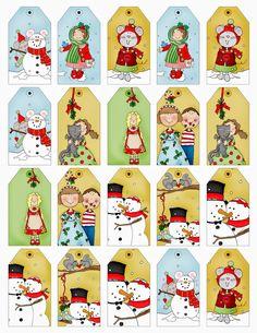 ChristmasTreeTags.jpg (1237×1600)