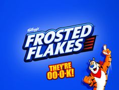 Honest brand slogan for Kellogg's Frosted Flakes