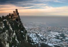 first tower of san marino