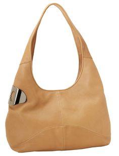 Halston Heritage #ladieshandbag #womensbags #camelhandbag #hobohandbag #handbags #brownhandbags