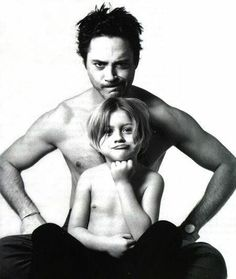 RDJ and his son Indio