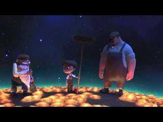 皮克斯2012入圍奧斯卡最佳動畫短片,月亮的清潔工