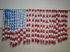 Cute: For Veterans Day.......to hang from first grade hallway