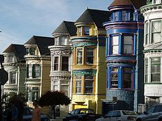 Classic San Fran Painted Ladies