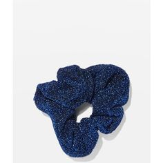 Topshop Mini Glitter Scrunchie ($5.36) ❤ liked on Polyvore featuring accessories, hair accessories, purple, scrunchie hair accessories, 80s hair accessories, purple hair accessories and glitter hair accessories