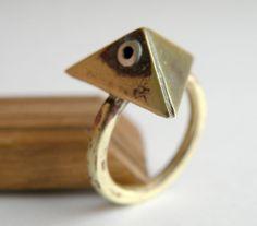 All Seeing Eye Ring $62.00