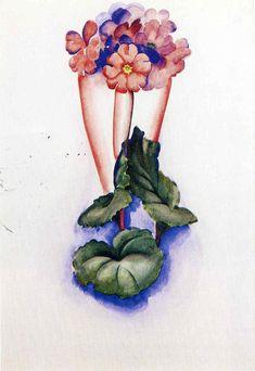 Georgia O'Keeffe ~ The Precisionist Movement, 1920 | Tutt'Art@ | Pittura…