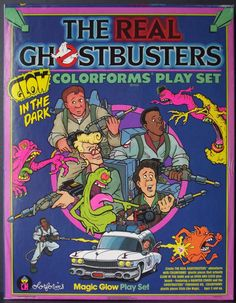 Ghostbuster Colorforms! #nostalgia #toys #1980s #movies #childhood