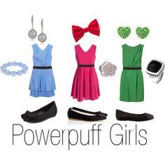 Bubbles, Blossom & Buttercup, The Powerpuff Girls