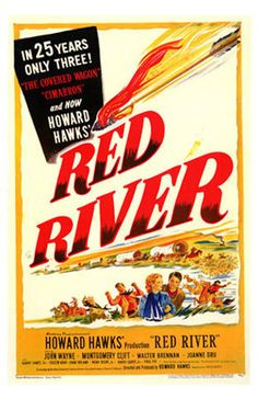 1940's Red River with John Wayne