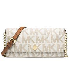 MICHAEL Michael Kors MK Signature Wallet on a Chain