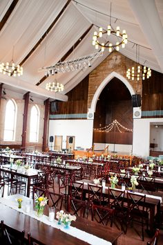 #wedding reception at the Brooklyn Arts Center in Wilmington, NC | Eric Boneske