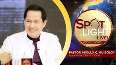 Be blessed! Watch spotlight now. Spiritual Enlightenment, Spirituality, Thank You Pastor, Kingdom Of Heaven, Here On Earth, Great Leaders, Son Of God, Praise And Worship, Apollo