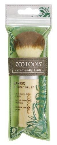 Ecotools Bamboo Bronzer Brush***Made from recycled and sustainable materials,Use to apply bronzer for a natural looking, sunkissed glow,Bamboo Handle,Cruelty-Free Bristles,1% of Sales donated to environmental organizations,.