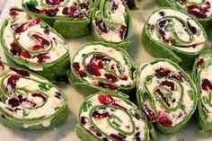 Explore Love Eat: Cranberry Feta Pinwheels