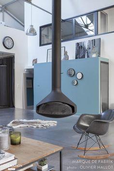 Une maison loft en région parisienne, Marque de Fabrik - Côté Maison