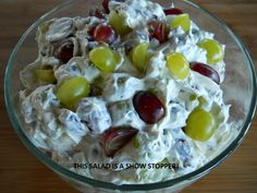 Scrumptious Grape Salad | Food And Facets