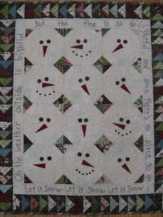 Let It Snow Quilt