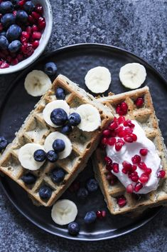 Food N, Food And Drink, Healthy Snacks, Healthy Recipes, Tasty, Yummy Food, Pancakes And Waffles, Summer Drinks, Brunch