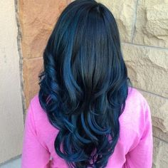 30 Fairy-Like Blue Ombre Hairstyles